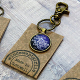 Shakespeare Keyring