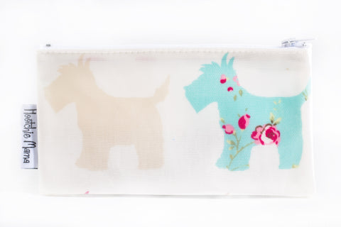Oilcloth Purse (Scottie Dogs)