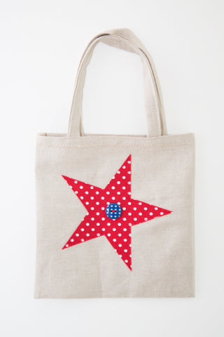 Medium Star Gift Bag (Red)