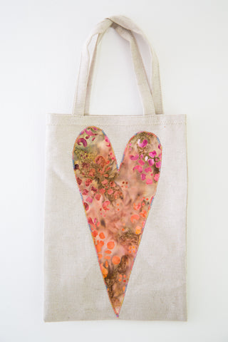 Large Heart Gift Bag