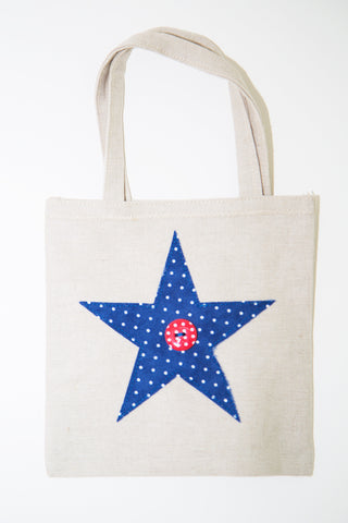 Medium Star Gift Bag (Blue)