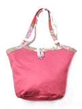 The Birdie Reversible Shoulder Bag - Gypsy / Cranberry