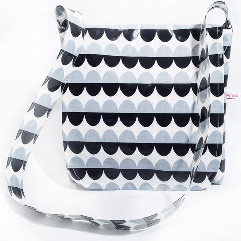 "The ""Monochrome Millie"" Messenger Bag"
