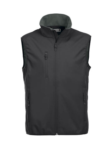 Chaleco softshell hombre