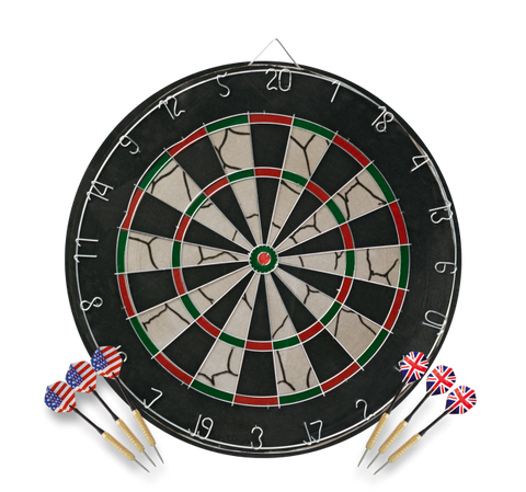 Dartboard for tournaments and expert players