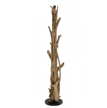 Vidin Wood Floor Lamp