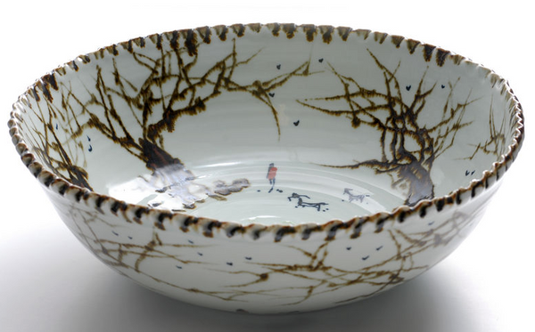 'Copenhagen Forest' Bowl