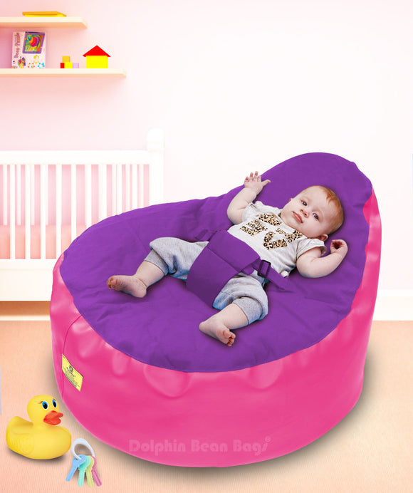 Dolphin Baby Holder Bean Bag Filled (with Beans)
