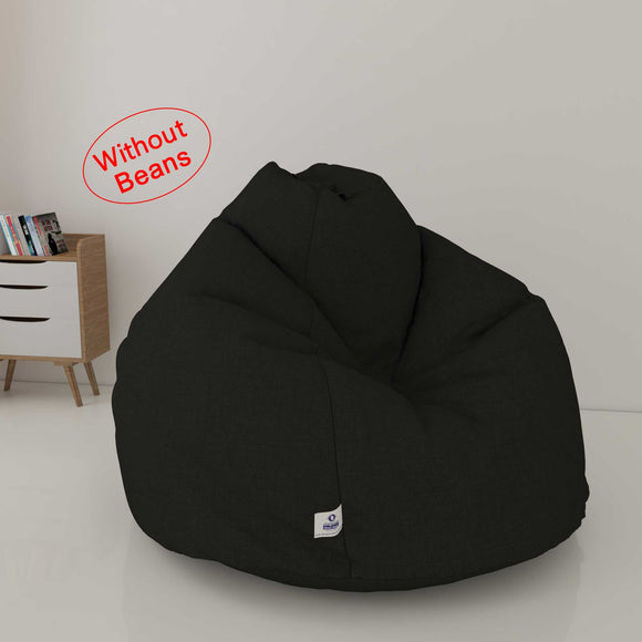DOLPHIN XXXL DENIM BEAN BAG-DENIM DARK- WASHABLE (COVER)