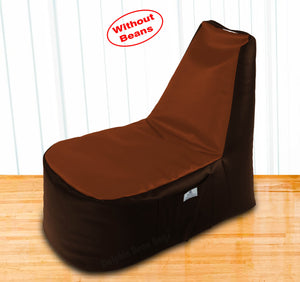 DOLPHIN XXL Boot Shape Recliner Brown/Tan-Cover (Without Beans)