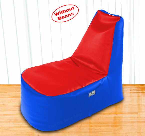 DOLPHIN XXL Boot Shape Recliner R.Blue/Red-Cover (Without Beans)