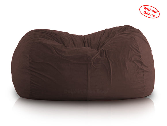 DOLPHIN FATBOY BEAN BAG Elite-BROWN-Cover (without Beans)