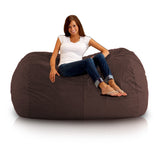 DOLPHIN FATBOY BEAN BAG Elite-BROWN-FILLED(with Beans)