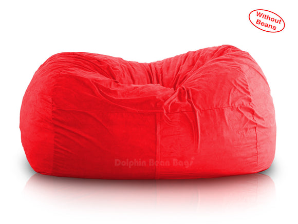 DOLPHIN FATBOY BEAN BAG Elite-Red-Cover (without Beans)