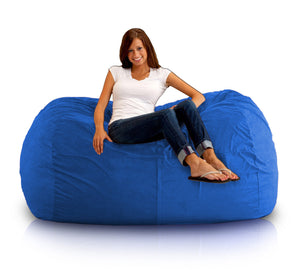 DOLPHIN FATBOY BEAN BAG Elite-R.BLUE-FILLED(with Beans)