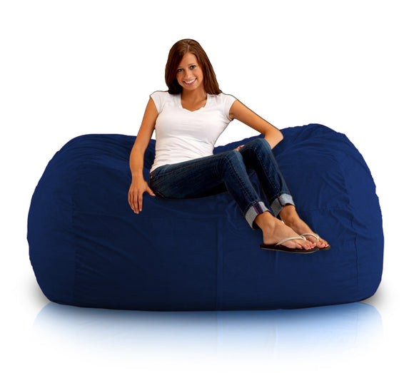 DOLPHIN FATBOY BEAN BAG Elite-N.BLUE-FILLED(with Beans)