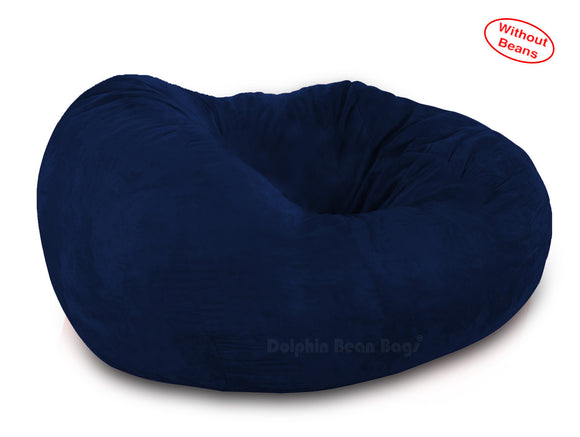 DOLPHIN FATBOY BEAN BAG -N.BLUE- Cover (without Beans)