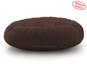DOLPHIN FATBOY BEAN BAG ROUND BROWN-Cover (without Beans)