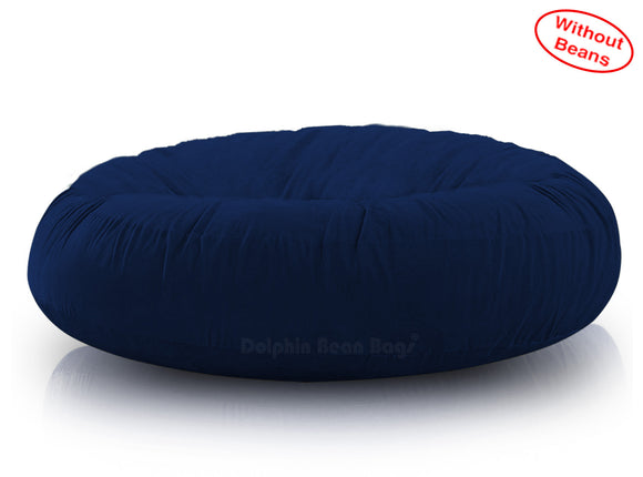 DOLPHIN FATBOY BEAN BAG ROUND N.BLUE-Cover (without Beans)