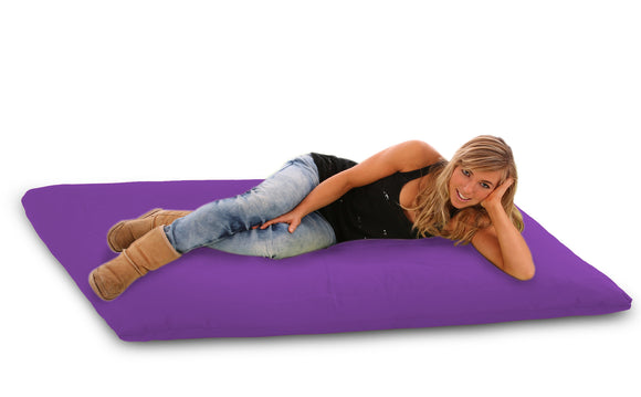 DOLPHIN FATBOY Bean Bag with Multi Use-N.Blue/Purple-FILLED(with Beans)