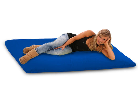DOLPHIN FATBOY Bean Bag with Multi Use-N.Blue/R.Blue-FILLED(with Beans)