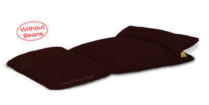 Dolphin Lounger-Fabric-Brown-Covers (Without Beans)
