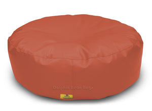 Dolphin Round Floor Cushions TAN-Filled (With Beans)