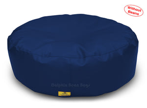 Dolphin Round Floor Cushions  N.BLUE-Cover ( Without Beans)