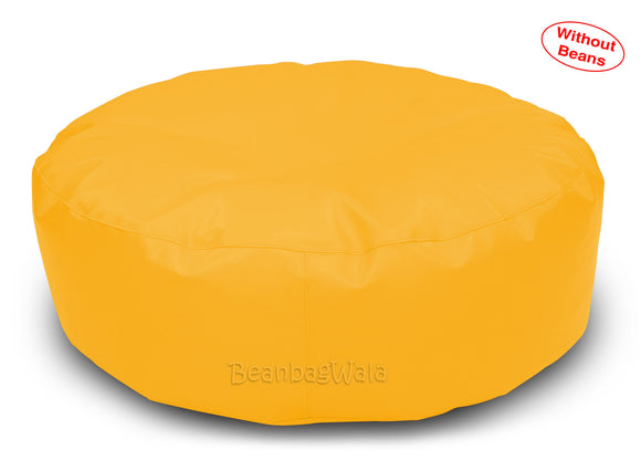 Dolphin Round Floor Cushions YELLOW-Cover ( Without Beans)