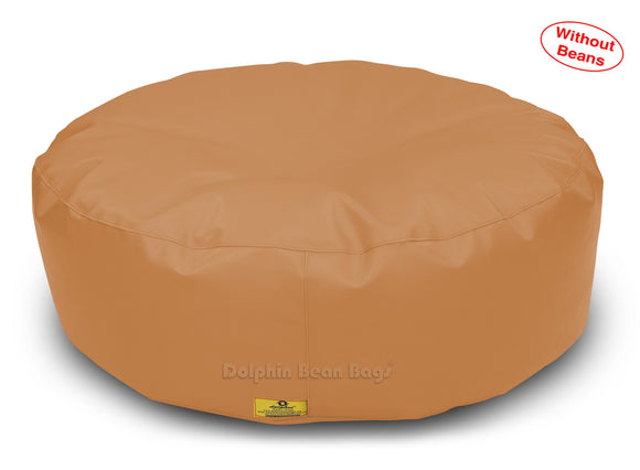 Dolphin Round Floor Cushions FAWN-Cover ( Without Beans)