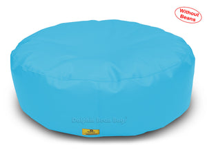 Dolphin Round Floor Cushions TURQOISE-Cover ( Without Beans)