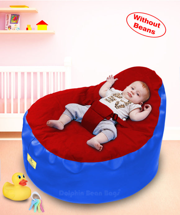 Dolphin Baby Holder Bean Bags Red/R.Blue (without Beans)