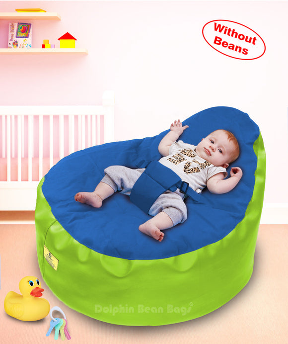 Dolphin Baby Holder Bean Bags F.Green/ROYAL Cover (without Beans)