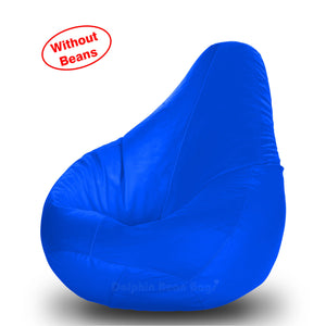 DOLPHIN L BEAN BAG-R.Blue-COVER (Without Beans)