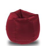 DOLPHIN Original L BEAN BAG-MAROON -With Fillers/Beans