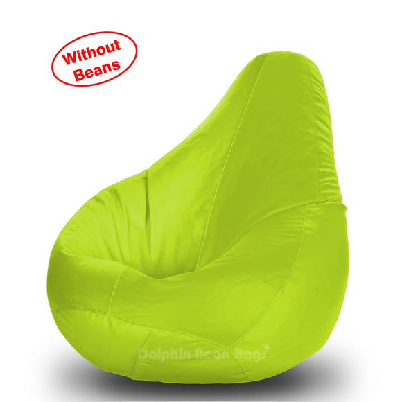 DOLPHIN L BEAN BAG-F.Green-COVER (Without Beans)