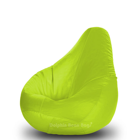 DOLPHIN Original M BEAN BAG-GREEN -With Fillers/Beans
