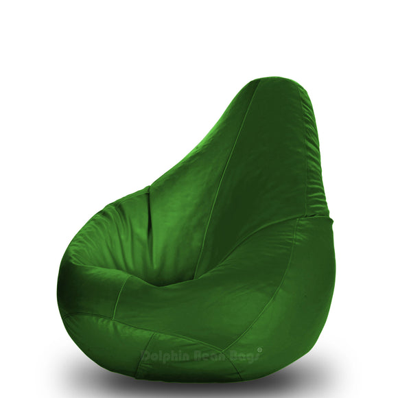 DOLPHIN Original M BEAN BAG-B:GREEN -With Fillers/Beans