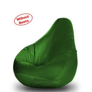 DOLPHIN M Regular BEAN BAG-B.Green-COVER (Without Beans)