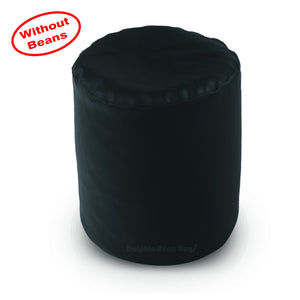 DOLPHIN ROUND PUFFY BEAN BAG-BLACK COVER (Without Beans)