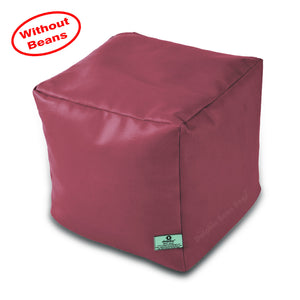 DOLPHIN SQUARE PUFFY BEAN BAG-FAWN-COVER (Without Beans)