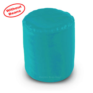 DOLPHIN ROUND PUFFY BEAN BAG-TURQUOISE COVER (Without Beans)