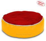 Dolphin Pets Bean Bag Yellow/Red-Cover (Without Beans)