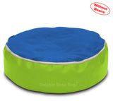 Dolphin Pets Bean Bag F.Green/ROYAL-Cover (Without Beans)