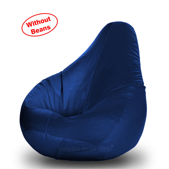 DOLPHIN S Regular BEAN BAG-N.Blue-COVER (Without Beans)