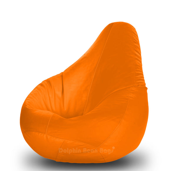 DOLPHIN Original S BEAN BAG-Orange-With Fillers/Beans