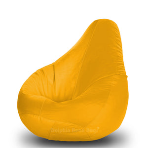 DOLPHIN Original S BEAN BAG-Yellow-With Fillers/Beans