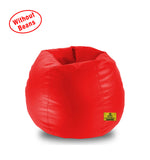 DOLPHIN XL BEAN BAG-Red-COVER (Without Beans)
