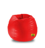 DOLPHIN XL BEAN BAG-RED - FILLED (With Beans)