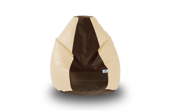 DOLPHIN Original S BEAN BAG-Brown/Fawn-With Fillers/Beans